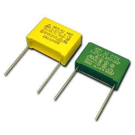 what are type of capacitor types of capacitors part ii