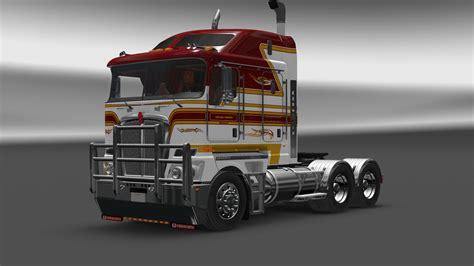 kenworth technical support kenworth k200 v13 for 1 24 1 25 ets2 mods truck