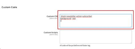 how to add custom css files in magento magento tutorials add magento 2 custom css code in ves theme setting