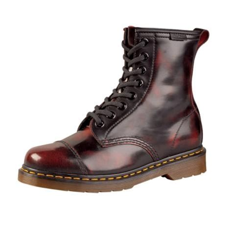 shop for mens dr martens carey boot in burgandy at
