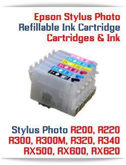 reset printer epson r200 epson stylus photo printer refillable ink cartridges