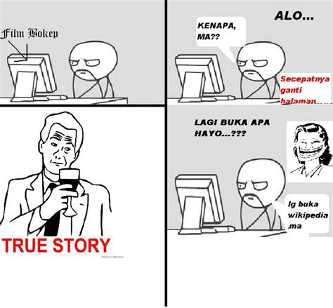 Truestory Meme - evolution meme indonesia true story