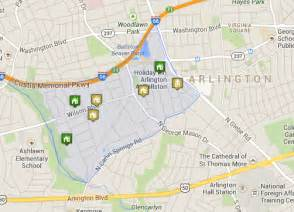 arlington map arlington va townhomes bluemont neighborhood homes for sale in arlington va c21redwood