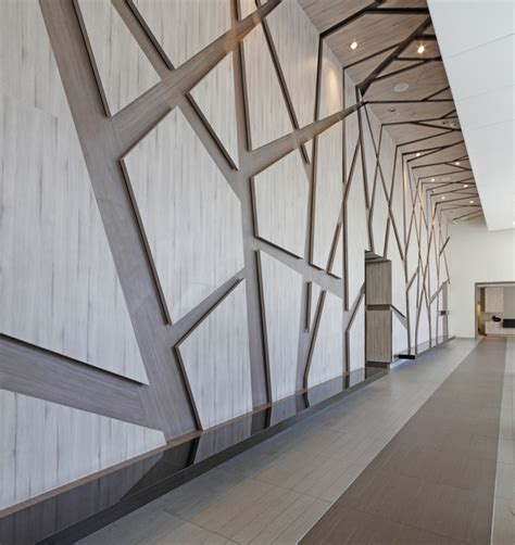 Architectural Wood Interior Wall Panels - cool uses for decorative wall panels in modern spaces