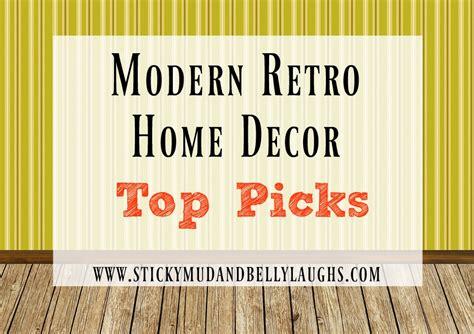 modern retro 1980 s inspired living room decor sticky