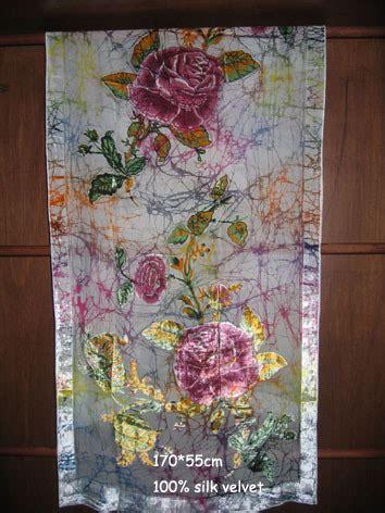 Pashmina Branded Motif Batik 17 batik shawl