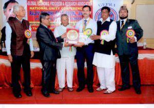 Award Letter For Rajiv Gandhi National Fellowship dr dinesh badyal awarded rajiv gandhi gold medal award