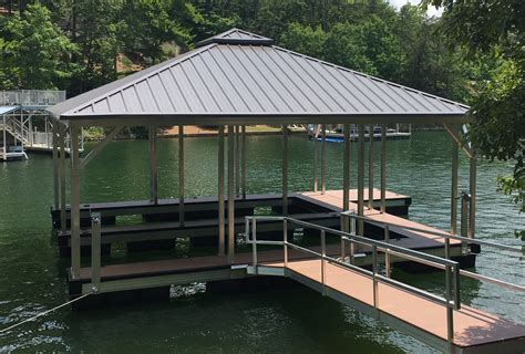 aluminum boat docks flotation systems aluminum boat docks