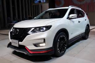 nissan rogue nismo nissan expands nismo lineup makes rogue look quicker w