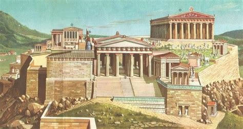 Southwest Architecture by Animations Show The Timeline Of Acropolis And Parthenon