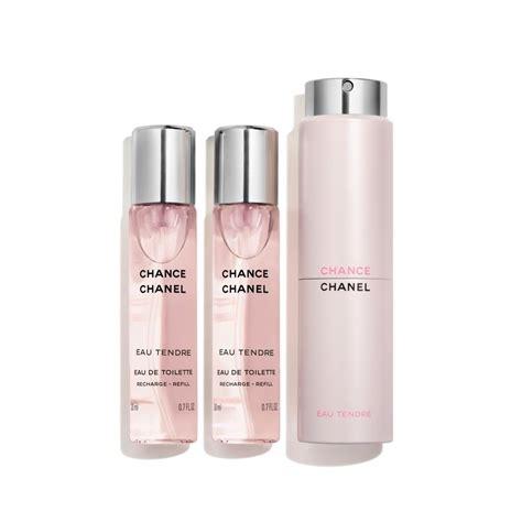 Parfum Chanel Eau Tendre chance eau tendre eau de toilette twist and spray
