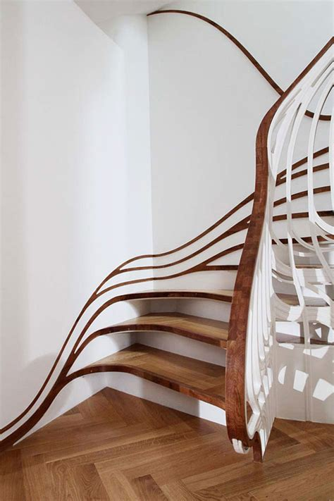 Bedroom Decorations Ideas unique root tree stairs design