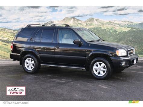 black nissan pathfinder 2000 nissan pathfinder black 200 interior and exterior