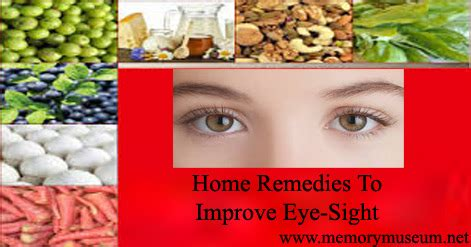 tips and home remedies for improve eyesight