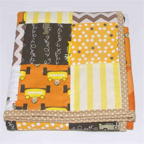 Polls For Patchwork by The Great Race Lined Patchwork Blanket Runny Babbits