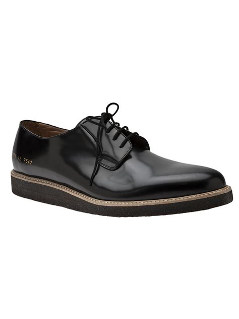 oxford dress shoes for common projects derby oxford dress shoe in black for