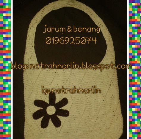 pattern password yang susah jarum benang diamond crocheted beg bolso de rombos