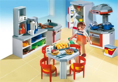 playmobil schlafzimmer 4284 playmobil set 4283 kitchen with dinnette set klickypedia
