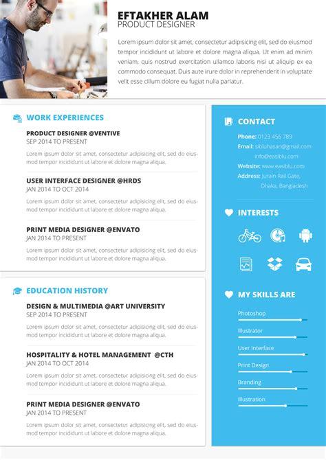 Material Cv Resume Material Resume Design Materialup