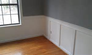 how will my room look painted dining room ideas painted wainscoting in dining room