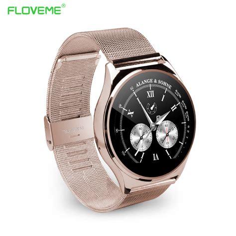 Floveme Bluetooth Smartwatch cheap floveme k7 smart bluetooth smartwatch sim card wristwatch pedometer montre wholesale