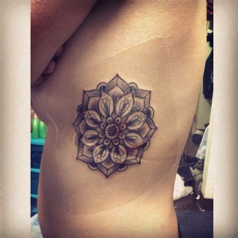 lotus mandala tattoo ribs top mandala rib tattoo images for pinterest tattoos