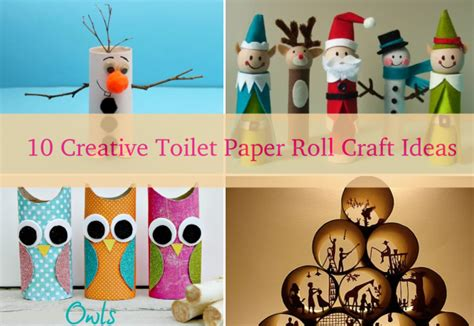 Paper Roll Craft Ideas - diy toilet paper roll intersiec