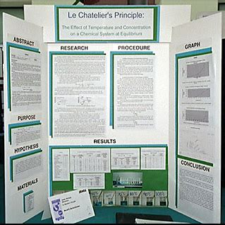 science fair poster board template science fair project display boards