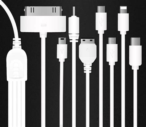 Multiplek 1 8 Cm 100cm 1 to 8 1m 8 in 1 universal usb cables for mobile