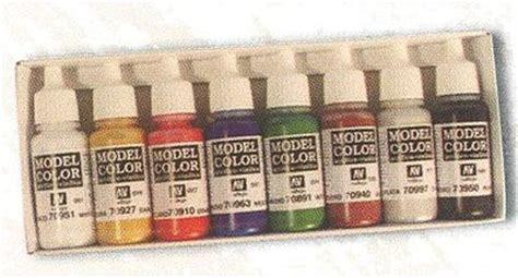 Vallejo 72030 Goblin Green Model Kit Paint orcs goblins set 5 17ml hobby and model paint set 70105 by vallejo 70105