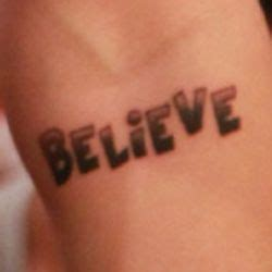justin bieber believe tattoo font believe that s justin bieber s tattoo don t ask me