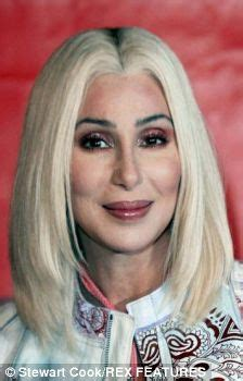 blonde joke: cher in her worst wig ever (and that's saying