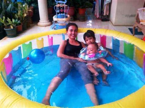 Kolam Renang Anak Fast Set Pool Bestway 244 kolam renang anak portable swimming pool karet pompa bestway