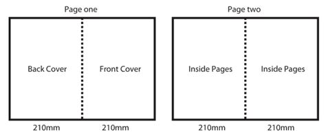 What Size Is A4 Paper Folded In Half - a3 folded brochures printing from only 299 95 7daysprint