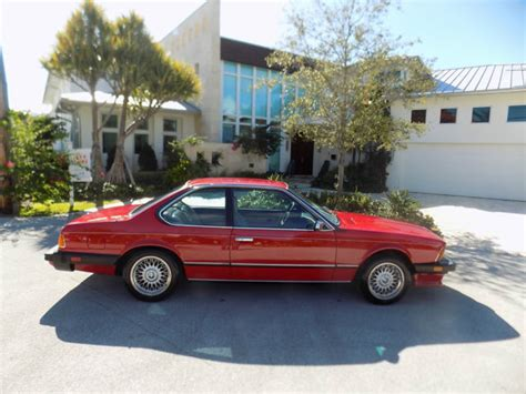 Bmw Service Fort Lauderdale 1985 Bmw 635 Csi 5 Speed Only 97 K Mi Showroom New All