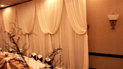 Wedding Backdrop Rentals Chicago by Beautiful Table Backdrop For Wedding Reception