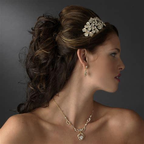 Rhinestone Flower Headpiece bold rhinestone flower headpiece bridal hair
