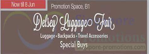 agoda uob indonesia delsey luggage fair isetan orchard 19 may 8 jun 2014