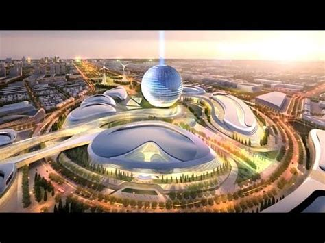 the world's first futuristic city will be in (drum roll