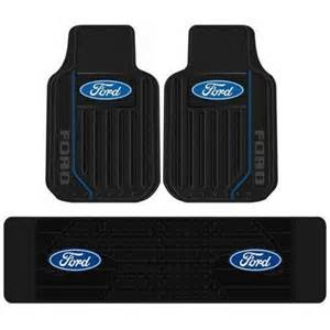 Floor Mats Trucks Ford Ford Logo Rubber Floor Mats Ebay