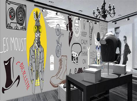 Custom Tailoring And Clothing Store V1 1 3 custom modern wallpaper trendy clothing 3d murals for clothing store bag shop store
