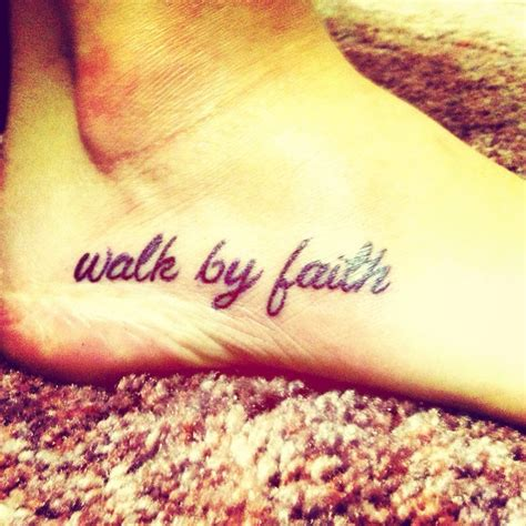 11 best walk by faith tattoo images on pinterest tattoo