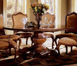 Lazy Susan Dining Room Table by Large Round Pedestal Dining Room Table Dining Room