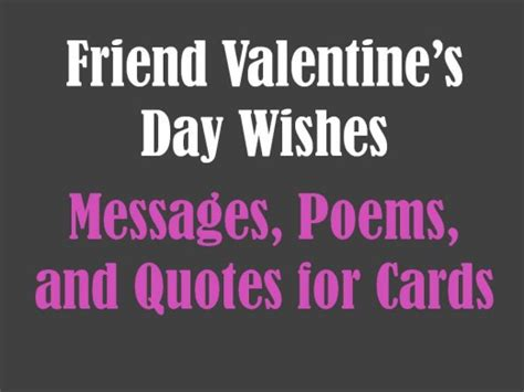 valentines day wishes for singles friend s day messages poems and quotes
