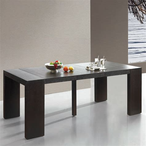 table console wenge table console extensible oxalys bois wenge