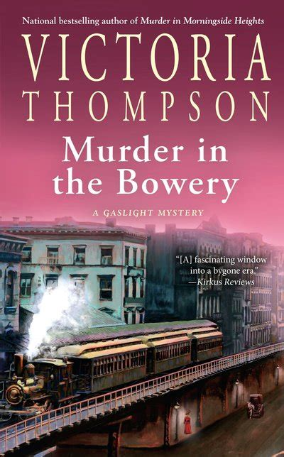 murder in the bowery by thompson penguin books