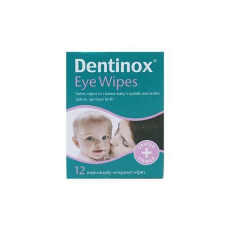 eye wipes dentinox eye wipes chemist direct
