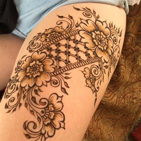 henna tattoo anleitung video henna zum selber machen makedes