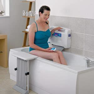bathtub aids for seniors mobilty bathing aids for the elderly easy2bathe bath lift