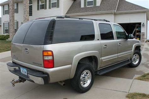 buy car manuals 2003 chevrolet suburban 2500 transmission control find used 2003 chevrolet suburban 2500 3 4 ton 4x4 lt leather package with the 8 1 liter in